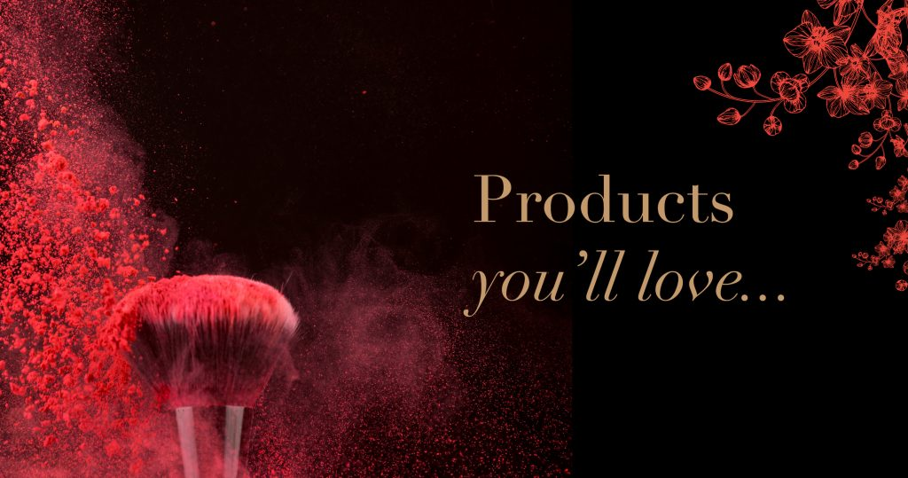 Dreamers Beauty Clinic Website Banner Products